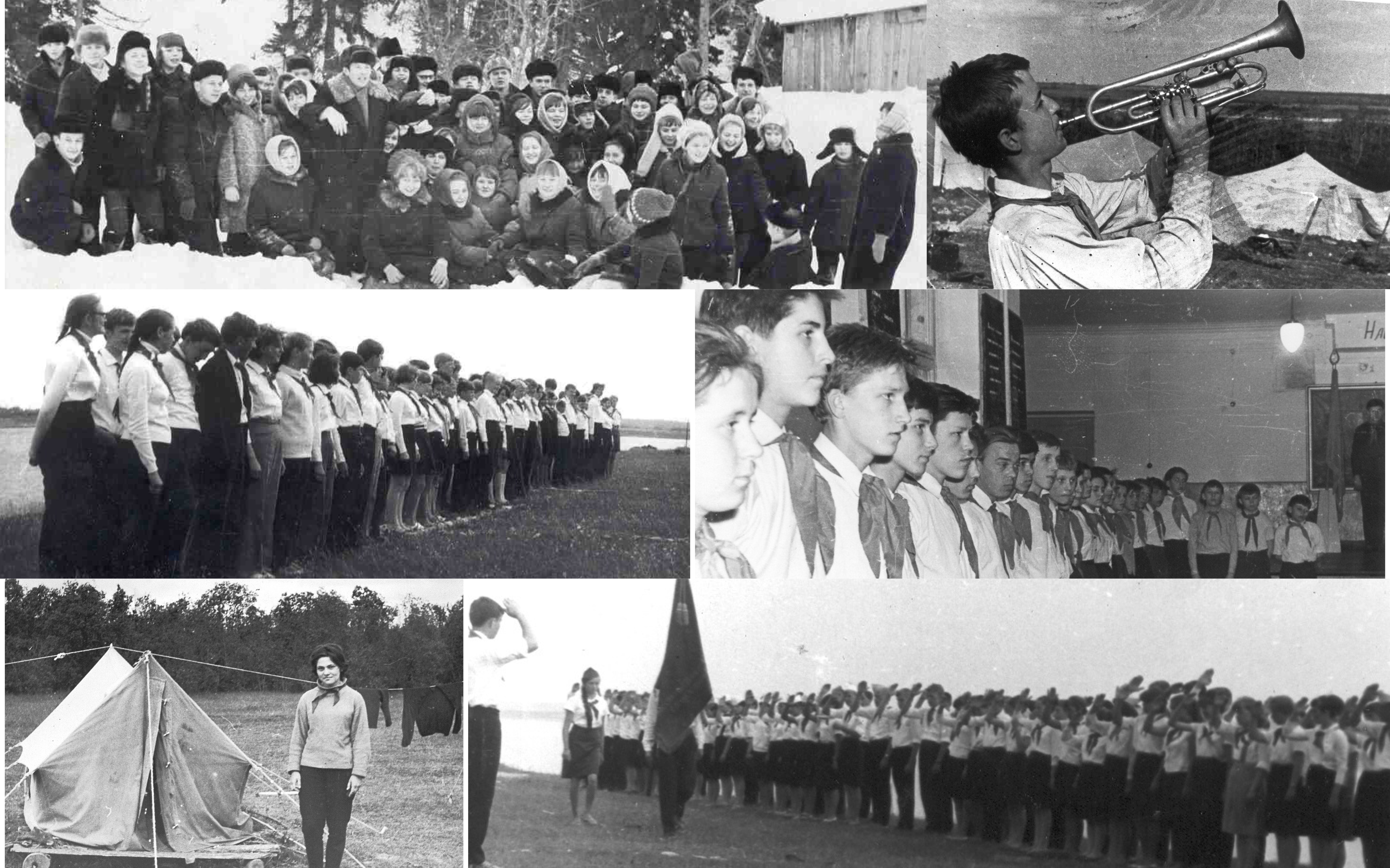 История сбора старшеклассников